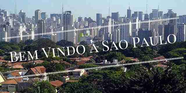 Bem Vindo à Sao Paulo